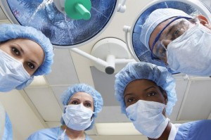 picture of surgery team