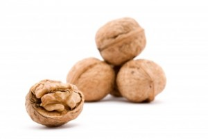picture of dry walnut fruit