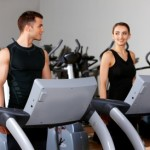 Moderate exercise will give you a heart rate between 60 and 70 % of your maximum heart rate