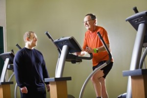 picture of man on treadmill