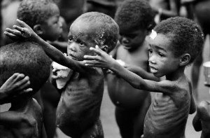 picture of starving african children