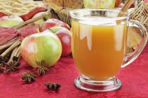 picture of hot apple cider