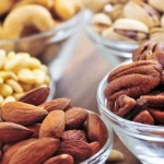 picture of almonds and walnuts