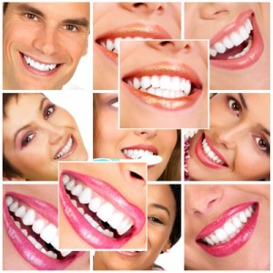 picture of smiles men woman