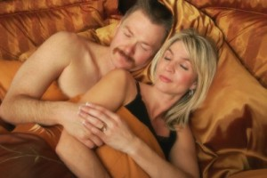 picture of couple sleeping