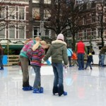 picture of people iceskating