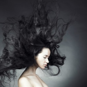 picture of woman with healthy hair