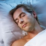 picture of man sleeping
