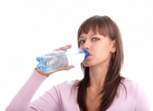 picture of Healthy Woman Drinking Water