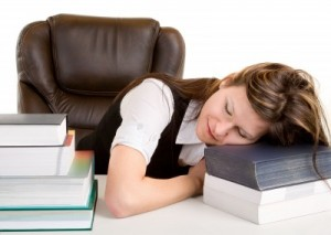 picture of Woman sleeping