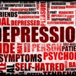 picture of Severe Depression Medical Mental State Background