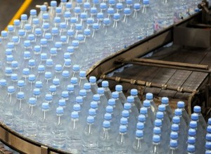 picture of bottled water manufacturer