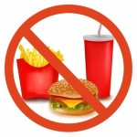 picture of no fast foods