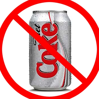 picture of no to diet coke