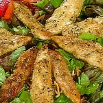 picture of sesame chix salad