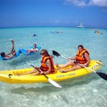 picture of ocean kayaking