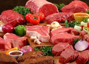 picture of red meat selection