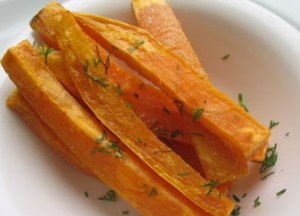 picture of sweet potato sticks
