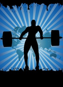 picture of weightlifter