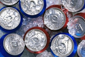 picture of soda pop cans
