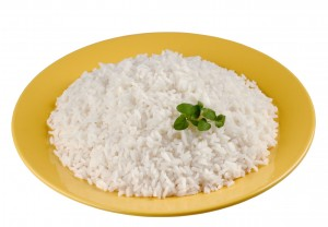 picture of rice in bowl