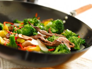 picture of wok stir fry