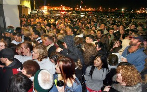 picture of black friday madness