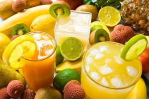 picture of fresh fruit drinks