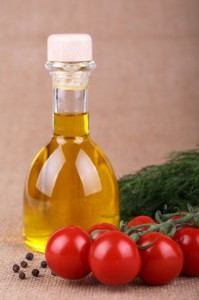 Olive oil, an essential fatty acid, is a staple of the Mediterranean Diet.