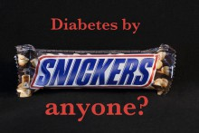 Diabetes by Snickers anyone?