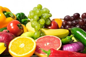 Replacing junk food snacks with healthy fruits and veggies is the first step in getting a flatter stomach.