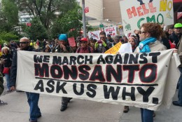 Over 2 million people from around the world took to the streets on May 25 to speak out against GMOs produced by companies like Monsanto.