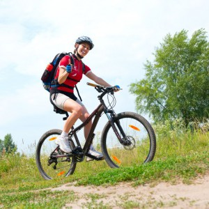 Mountain biking is a wonderful way to explore the upper elevations while getting in shape.