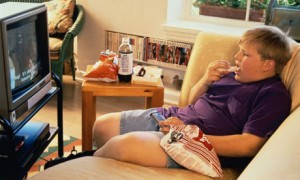 childhood obesity couch potato
