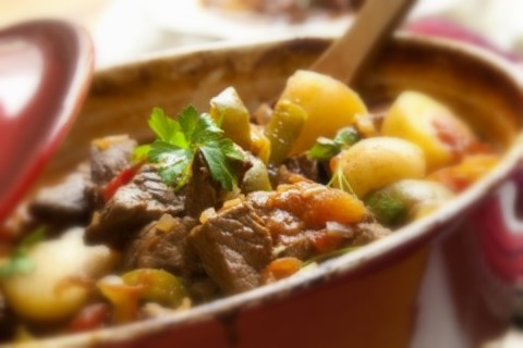 Hearty Healthy  Hot Beef Stew