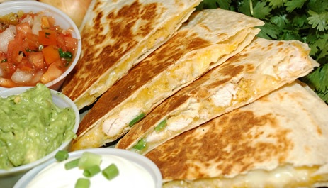 Turkey Leftover Quesadillas