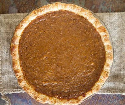 Chef Ed's Christmas Pumpkin Pie