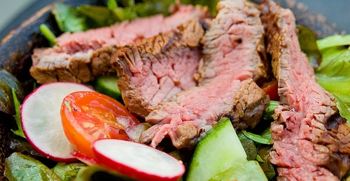 Warm Filet Mignon Salad