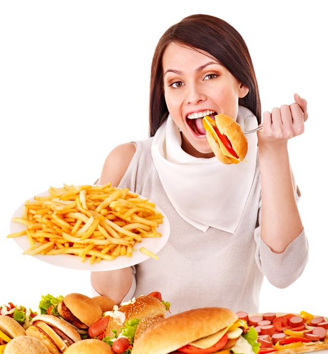 Healthy Benefits Of Fast Foods?  NOT!!!